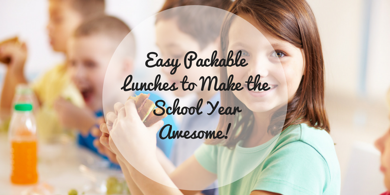 Easy Packable Lunches to Make the School Year Awesome