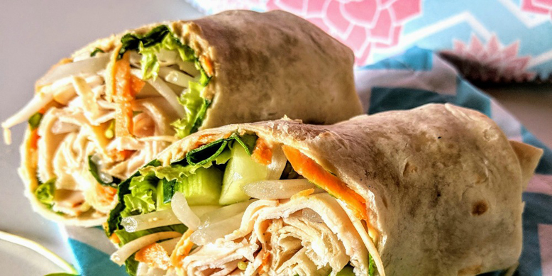 Sweet & Spicy Chicken Wrap!