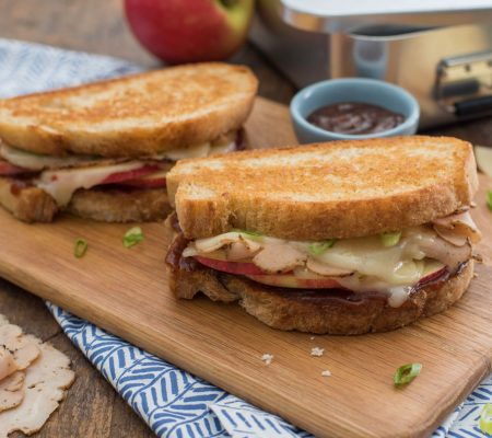 Apple & Chicken Grilled Cheese