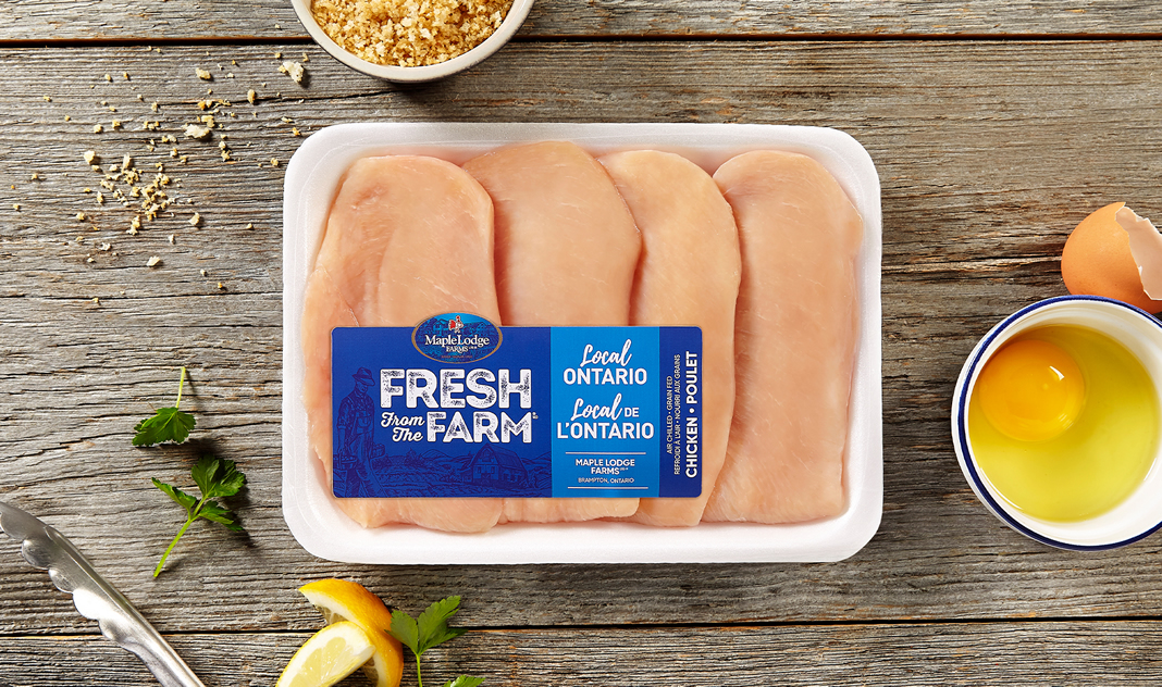 Fresh From The Farm Chicken Cutlets – Ontario