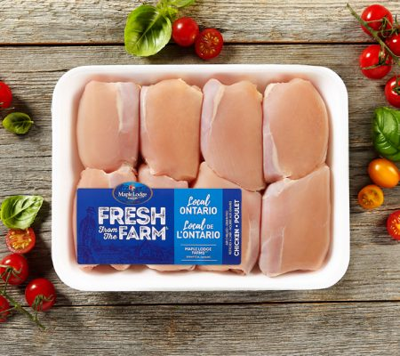 Fresh From The Farm Boneless Skinless Chicken Thighs