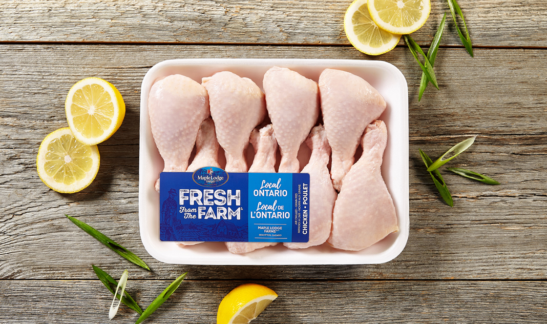 Pilons de poulet Fresh From the Farm – Ontario