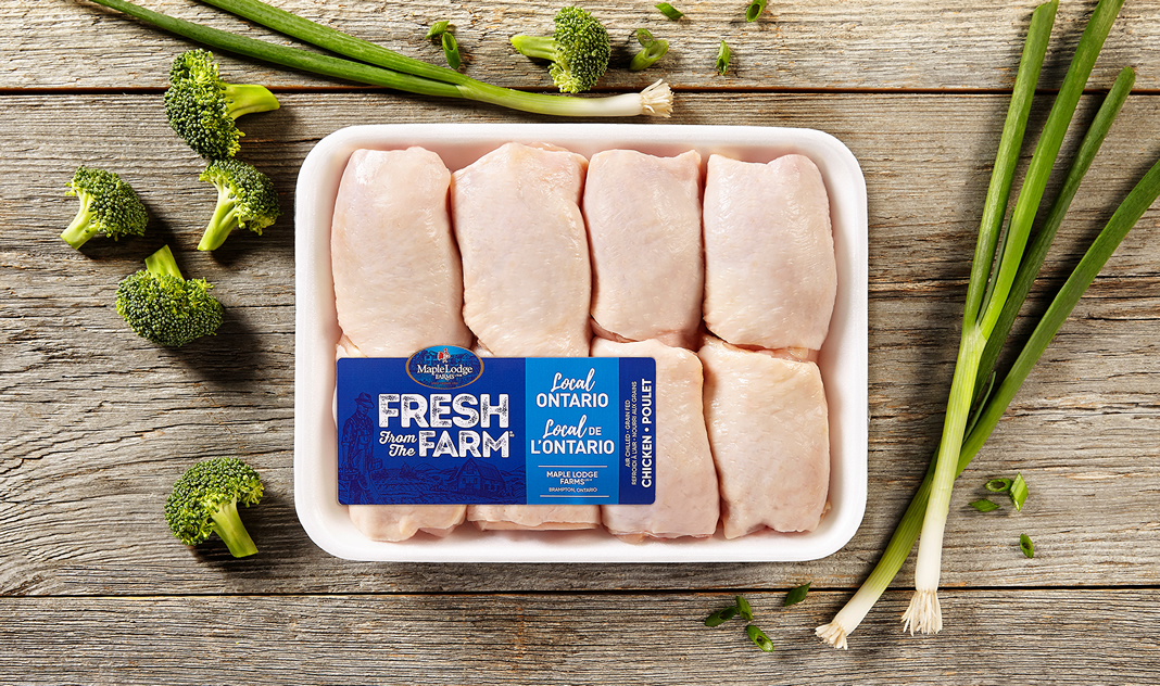 Fresh From The Farm Chicken Thighs – Ontario