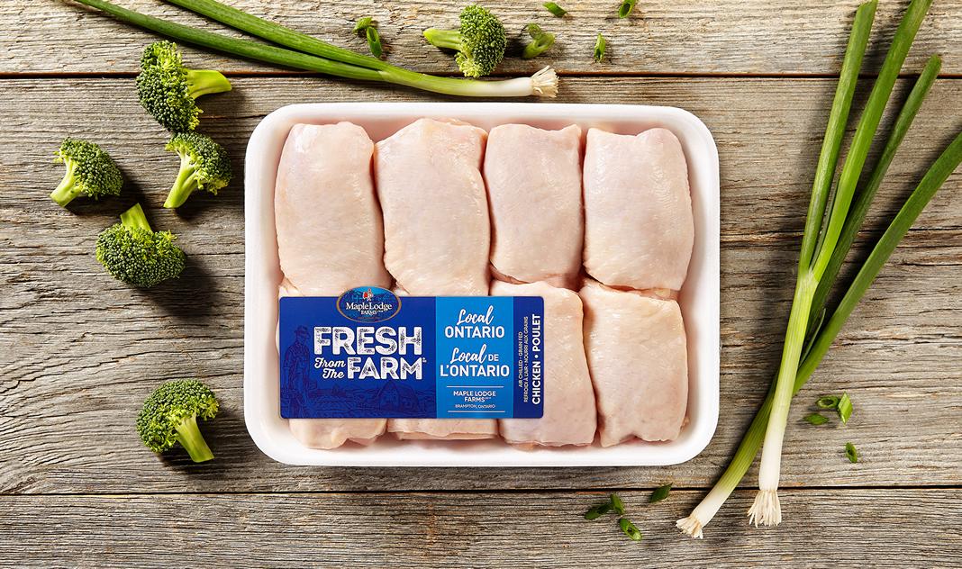 Hauts de cuisse de poulet Fresh From The Farm – Ontario