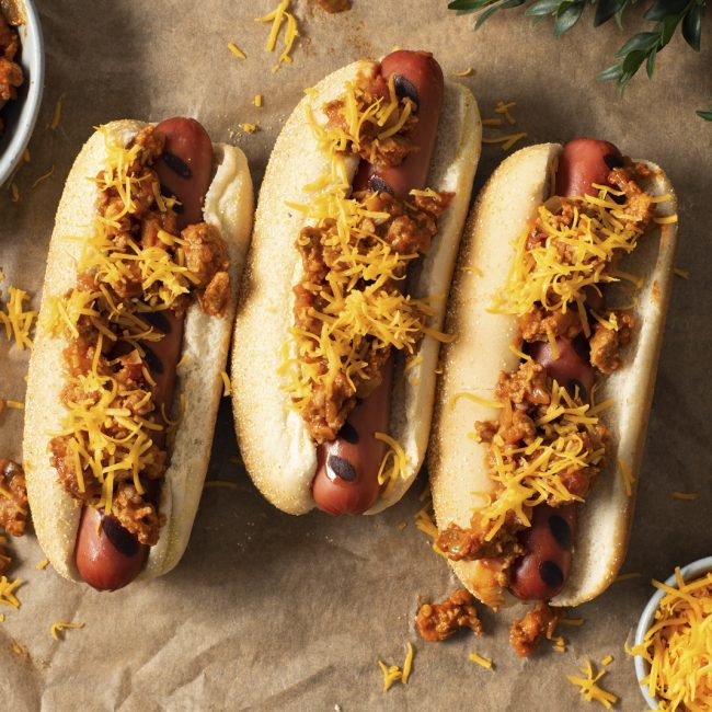 Chicken Chili Dogs