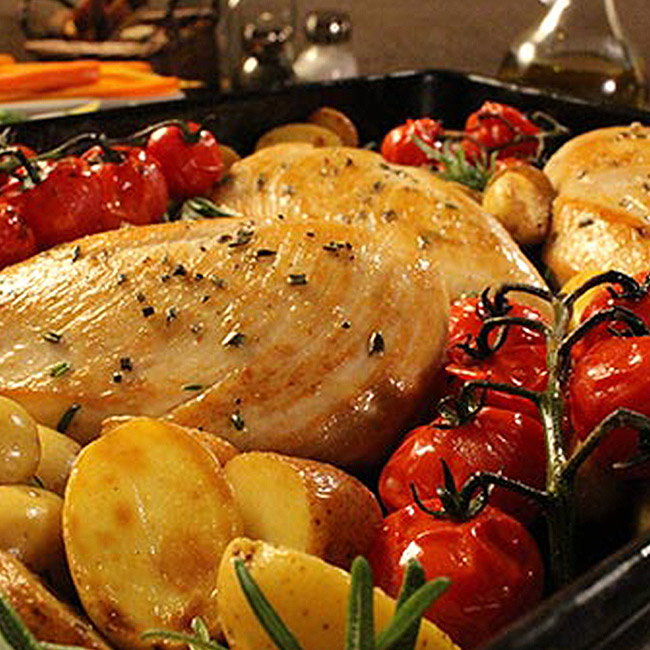 One-Pan Chicken Dinner
