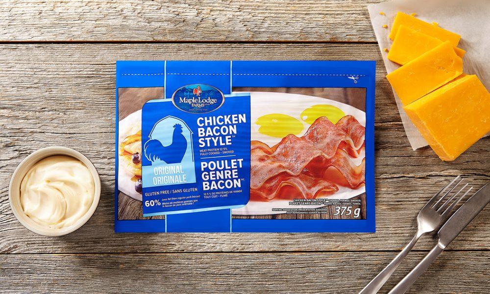 Poulet genre bacon, saveur originale