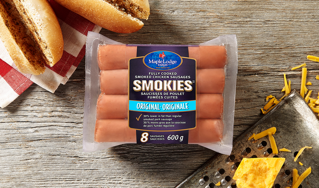 Smokies Fully Cooked Smoked Chicken Sausages