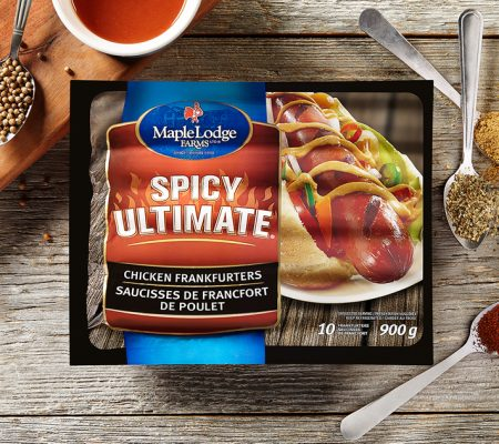 Spicy Ultimate Chicken Frankfurters