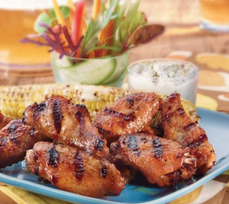 Sweet & Spicy BBQ Wings