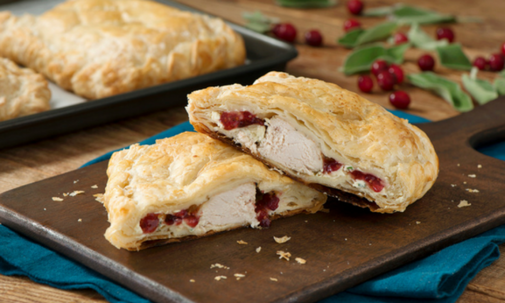 Cranberry Dijon Chicken Wellington