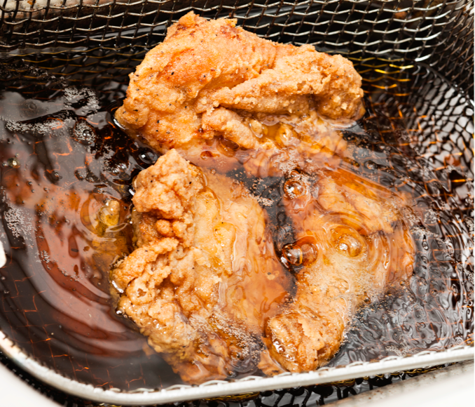 chicken how to - fried thumb