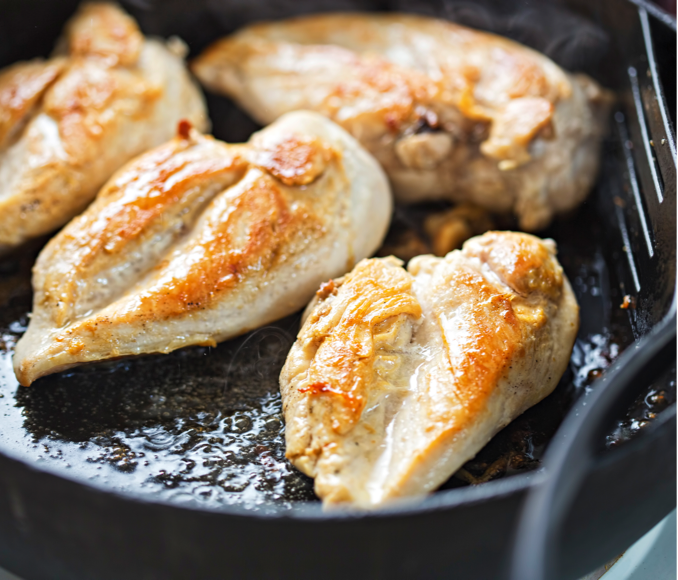 chicken how to - pan frying