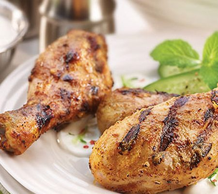 Indian Spiced BBQ Drumsticks