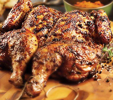 Smoky Cajun Butterflied Grilled Chicken