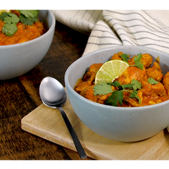 Spicy Bombay Chicken Stew
