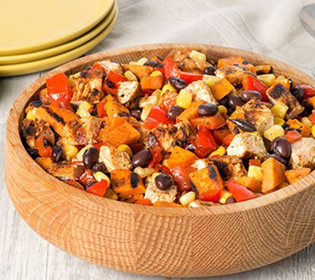Southwest Chicken & Sweet Potato Salad