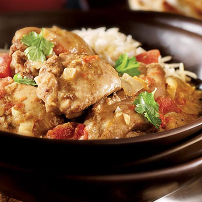 Spicy Bombay Chicken Stew