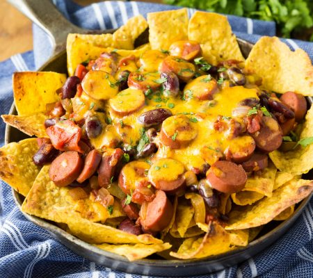 Spicy Chili Nachos