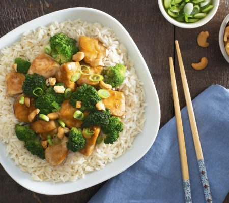 Cashew Chicken and Broccoli Stir Fry