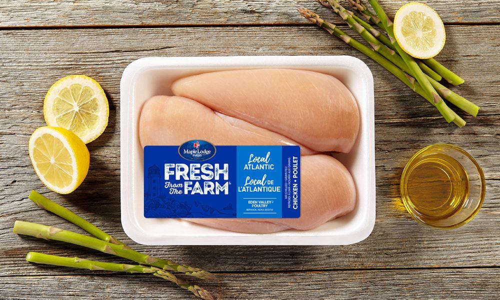 Local Atlantic Fresh From The Farm Boneless Skinless Chicken Breast