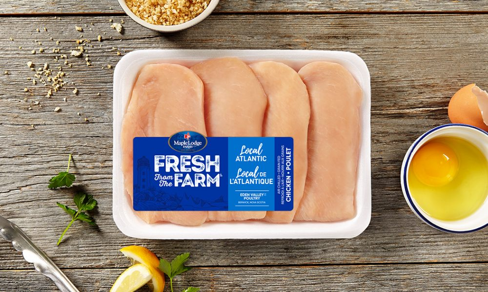 Local Atlantic Fresh From The Farm Boneless Skinless Chicken Cutlets