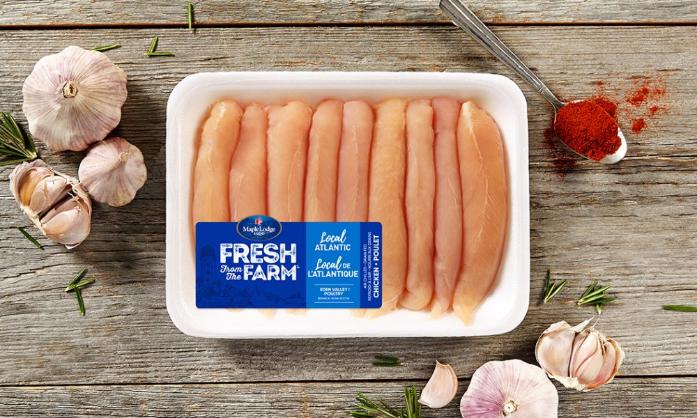 Local Atlantic Fresh From The Farm Boneless Skinless Chicken Fillets