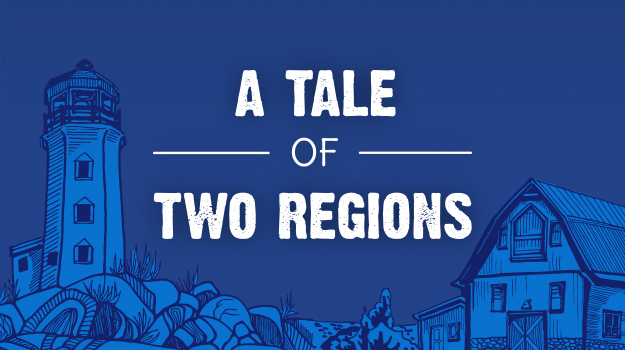 A Tale of Two Regions: Local Spots, Eats & Attractions