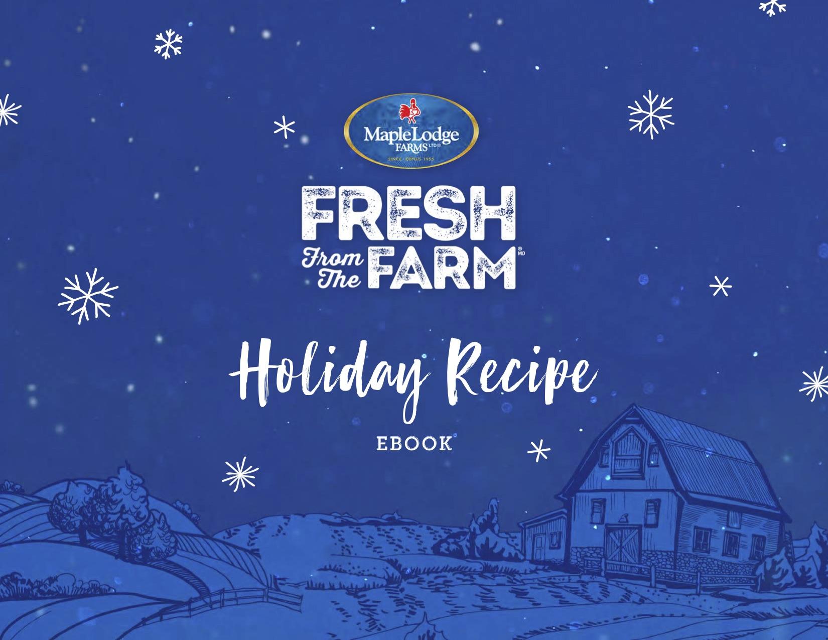 Fresh From The Farm Holiday Recipe Ebook