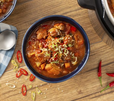 General Tso Chicken Chili