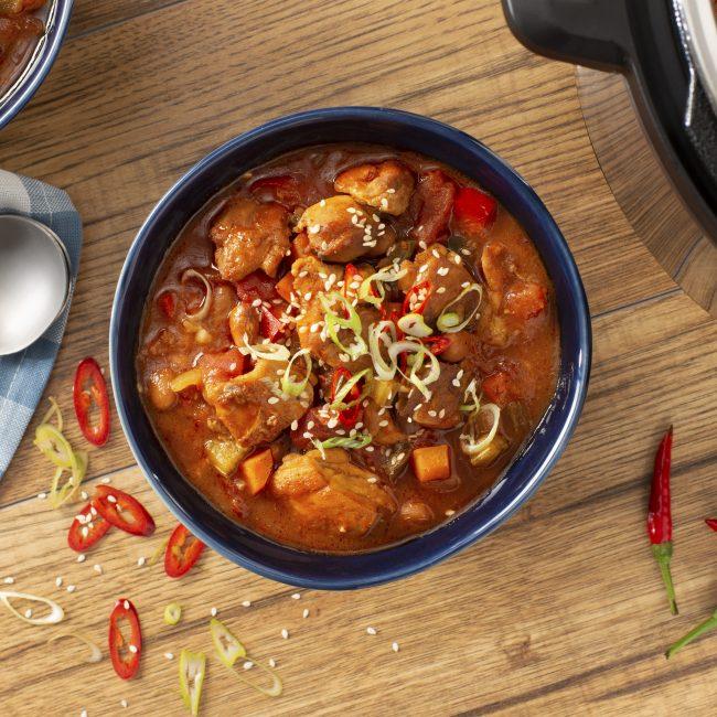 General Tso Chicken Chili