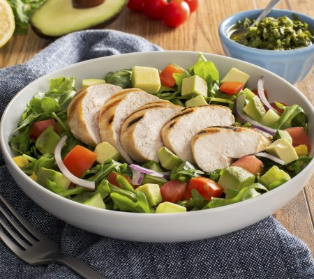 Grilled Chicken Salad With Chimichurri